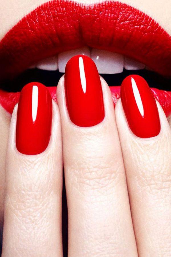 CND Rode nagels